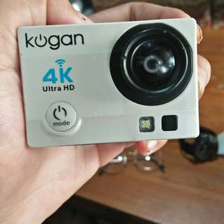 Action cam koga 4k ultra hd