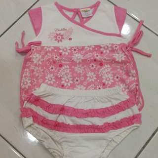 Cuddles baby girl set