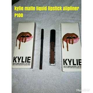 Kylie matte liquid lipstick &lipliner