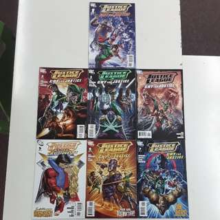 Justice League Cry for Justice (2009) Comics Set