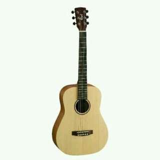 Cort Acoustic Guitar AD-Mini-OP Tanpa Kartu Kredit