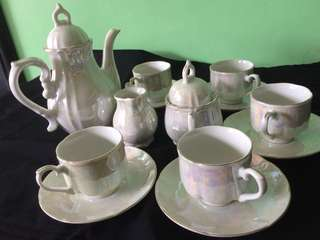 Reprice! 8pcs Tea Set elegant