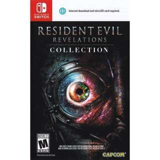 Resident Evil Revelations 1 Nintendo Switch