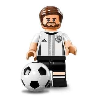 全新 Lego 71014 德國足球隊 Shkodran Mustafi 梅斯達菲 No.2 共1件 (全新開袋確認)