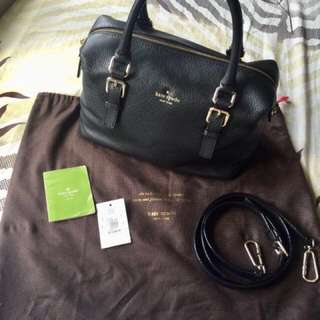 Kate Spade Cobble Hill Pebbled Leather Sami