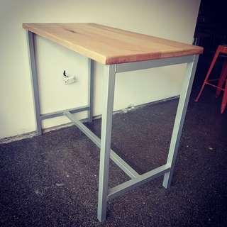 modern island bar table bench