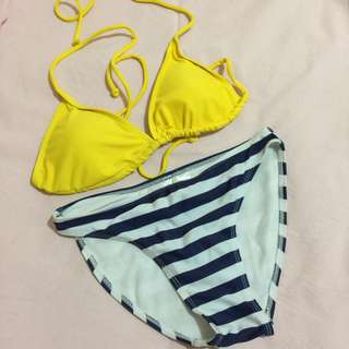 Brandnew Two-piece Nautical style Swimwear for pre-teens ages 12-14