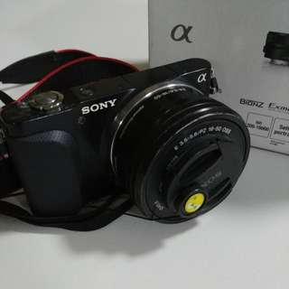 Sony NEX 3N + 16-50mm lens