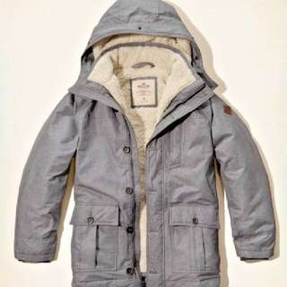 Jaket Winter Hollister Parka