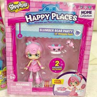 Shopkins Happy Places Slumber Bear Party