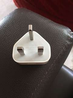 Apple authetic charger plug