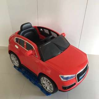 Electric remote toy car