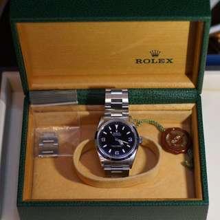 Rolex explorer 1 369 14270 t25面