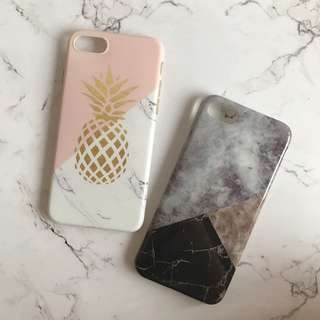 Iphone 7 case (2pcs)