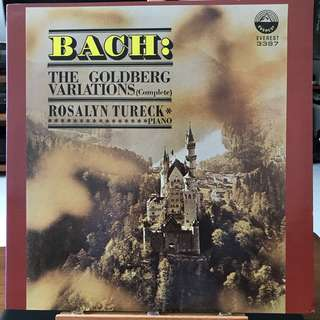 Bach Goldberg Variations Rosalyn Tureck Piano Everest 3397