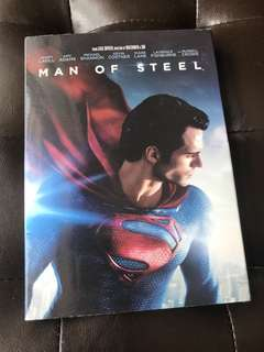 Man of Steel Movie DVD