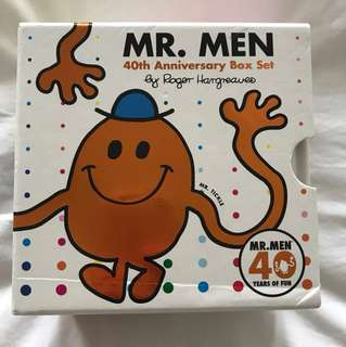 Mr Men 40th Anniversary Box Set
