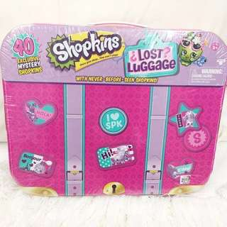 (Repriced) Brand New Shopkins Lost Luggage Edition-40 shopkins