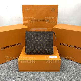 100% Authentic & New Louis Vuitton classic monogram Pochette