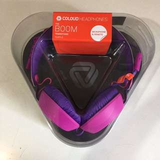 Coloud Headphone The Boom Transitions (Purple) 頭戴式耳機