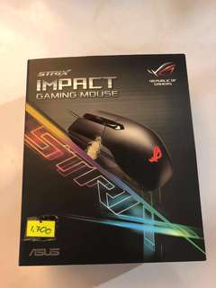 Republic of Gamers RGB mouse gold plated - negotiable! see descrption