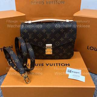 100% Authentic & New Louis Vuitton classic monogram Metis