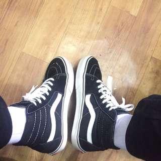 Vans sk8 black white