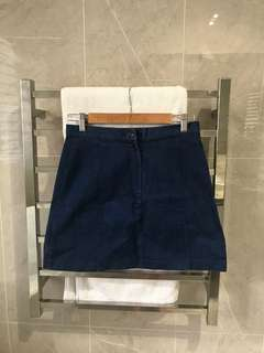 Princess Highway Denim Skirt - Size 10 AU