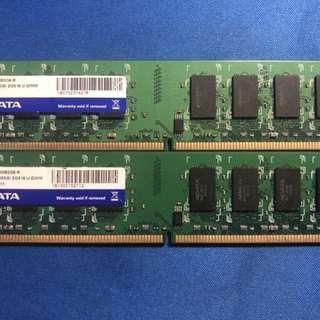 A.Data 2GB DDR2-800 ATL166275, ATL166274