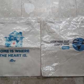 Brand new ecofriendly bags
