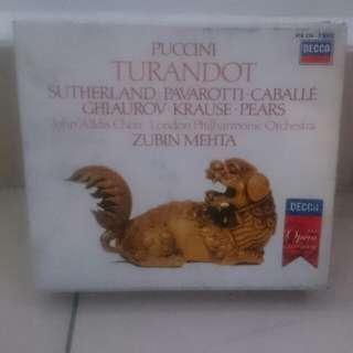 Turandot classical music cd