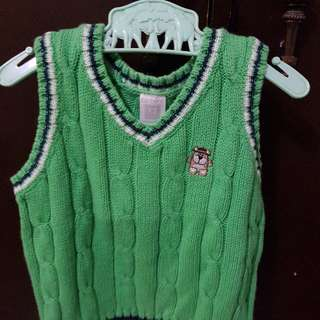 Carter's knitted vest