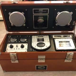 古董收音機,CD機,卡式帶機