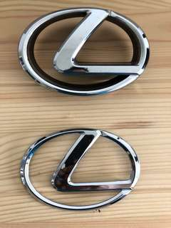 Lexus Logo for Toyota Harrier Ori