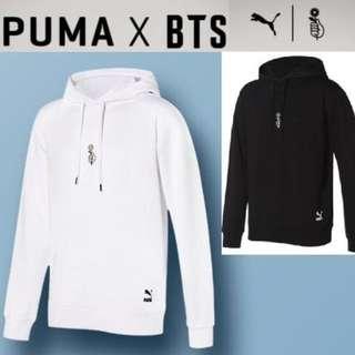BTS X PUMA LS SHOELACE HOODIE