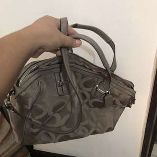 Coach bag 2 way authentic
