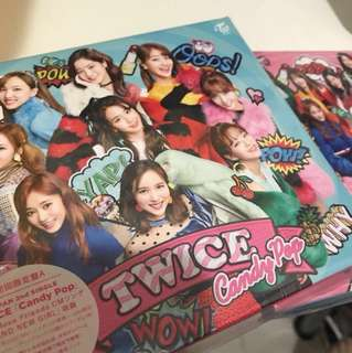 Twice Candy Pop 全新A盤(連海報$170)