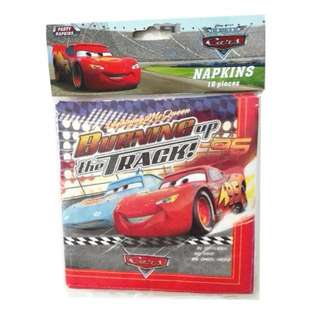 🚘 Disney Cars Party Supplies - party napkins