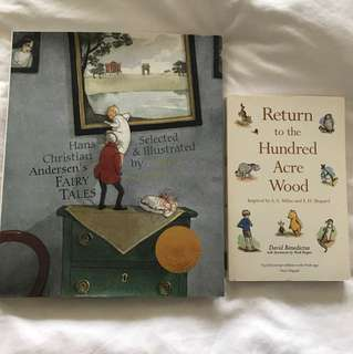 Hans Christian Anderson Fairy Tales & AA Milne Return to Hundred Acre Wood