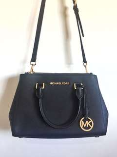 Michael Kors Small Sutton Saffiano Satchel