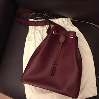 👜Cartier經典真皮水桶袋Vintage Real Leather Classic Bucket Bag💕