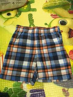 Checkered Shorts 24 months Carter's