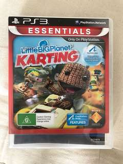 little big planet ps3 karting