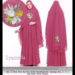 Gamis Syameela fit to XL