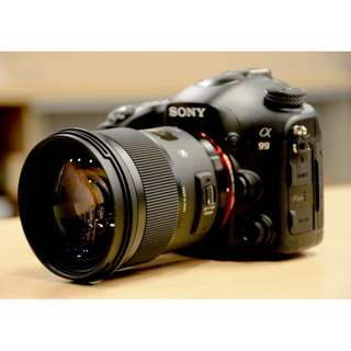 Sony A99 Full Frame DSLT Camera
