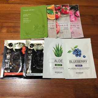 Nature republic/skinfood/my scheming mask sheet