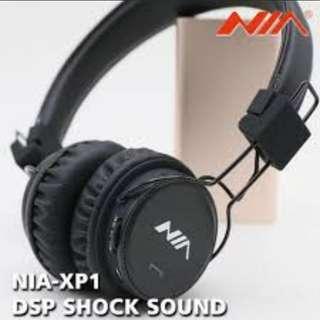 Superb Sound Wireless Bluetooth Headset NIA-XP1