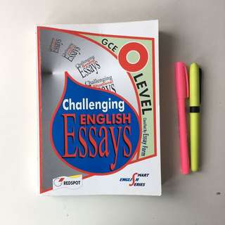 O Level English Essays Examples