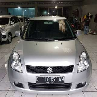 Suzuki swift GL 2007 matic silver Cbu