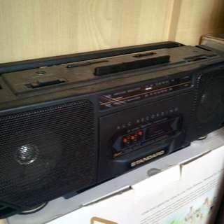 Standard rc204 cassette recorder